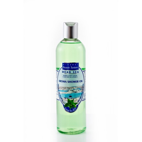 BAGNOSCHIUMA OLEOSO AL TE' VERDE- Aroma shower oil