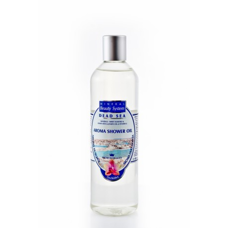 BAGNOSCHIUMA OLEOSO ALL'ORCHIDEA- Aroma shower oil