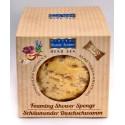 Spugna con bagnoschiuma prof. Lattemiele - 2 in 1 Sponge&Shower Gel - Milk&honey