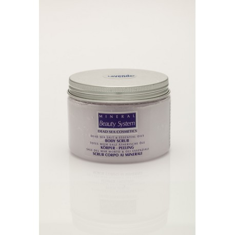 SALT & OIL BODY SCRUB - Scrub al sale del Mar Morto - profumazione lavanda