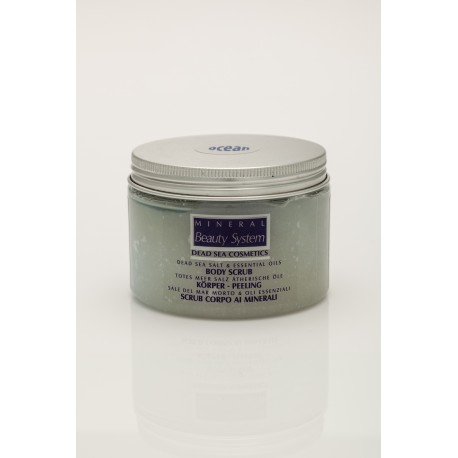 SALT & OIL BODY SCRUB - Scrub al sale del Mar Morto - profumazione Wild Ocean